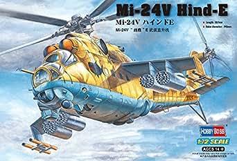 Amazon.com: Hobby Boss Mi-24V Hind-E Airplane Model Building Kit: Toys