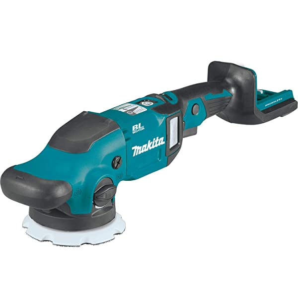 Makita XOP02Z 18V LXT Lithium-Ion Brushless Cordless 5/ 6 Dual Action Random Orbit Polisher, Tool Only