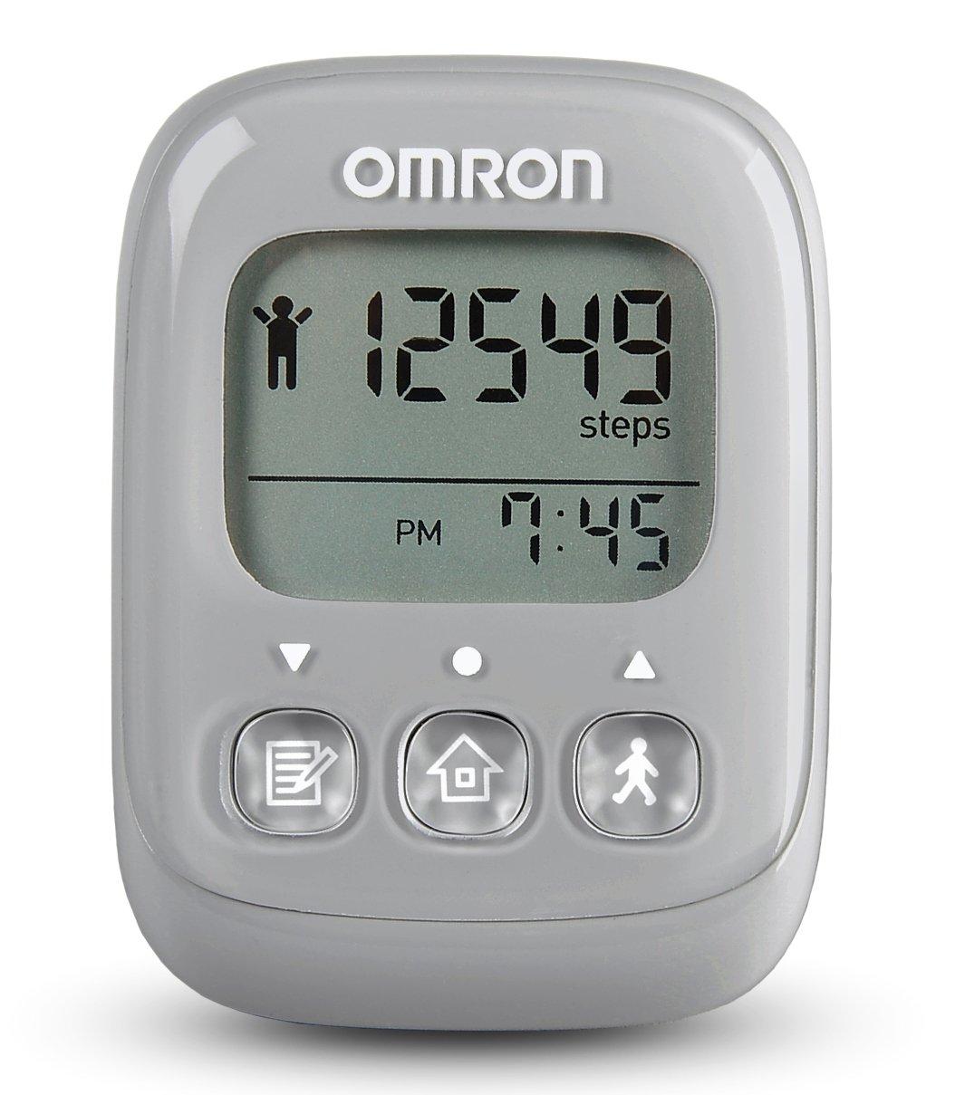 Omron Alvita Ultimate Pedometer, Gray