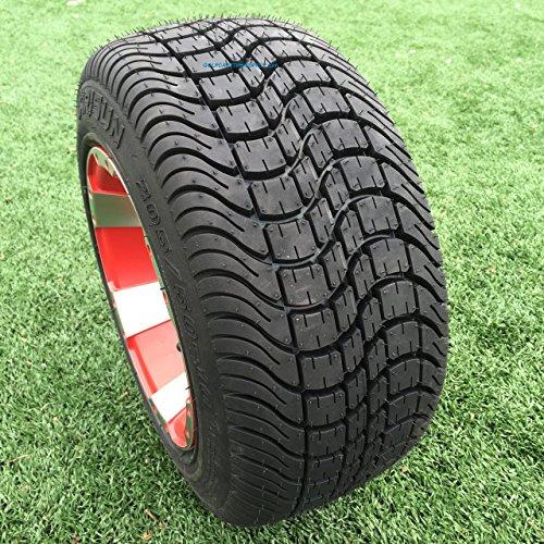 ARISUN 205/50-10 DOT Low Profile Golf Cart Tires - Set of 4 (Profile Golf compare prices)