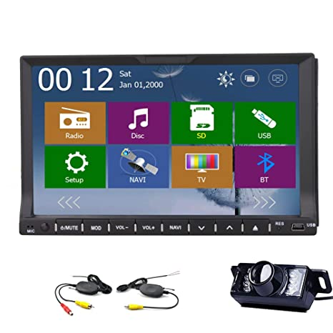 Windows 8.0 UI 2015 Date 7 pouces TFT šŠcran 2 din au tableau de bord voiture lecteur DVD stšŠršŠo pont Audio Radio Head Avec Bluetooth, la navigation GPS-Ready iPod-EntršŠe gratuite + GPS + Carte sa