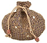 #3: Kleio ethnic zari and beads potli