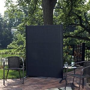 Amazon.com : Versare Outdoor Wicker Resin Room Divider