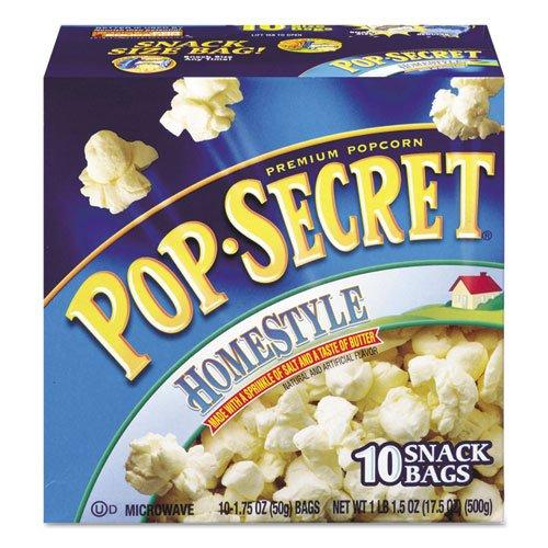 Pop Secret - Microwave Popcorn, Homestyle, 1.2 Oz Bags, 10/Box 28781 (Dmi Bx