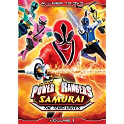 Power Rangers Samurai: The Team Unites (Volume One)