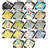 [18 In 1][2 4 Palyer] Magnetic Game Chess/Checkers/Backgammon/Chinese Checkers/Nine Mens Morris Game/Snakes&Ladders...