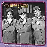 The Three Stooges Wall Calendar (2016)