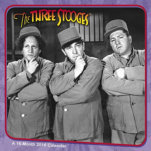 The Three Stooges Wall Calendar (2016)
