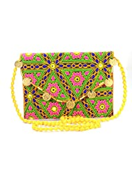 Arisha Kreation Co Women Hand Bag (Multi-Color)