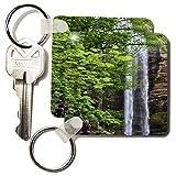 WhiteOak Photography Waterfalls - Waterfall in Georgia - Key Chains - set of 2 Key Chains (kc_38085_1)