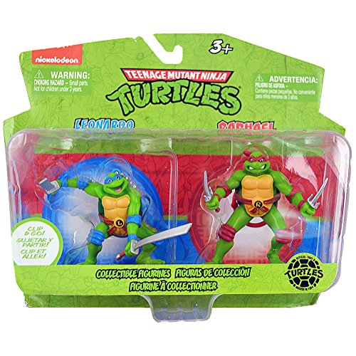 Teenage Mutant Ninja Turtles Collectible Figurines [Leonardo and Raphael]