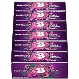Bubblicious Grape Bubble Gum, 5 pieces (Pack of 18)