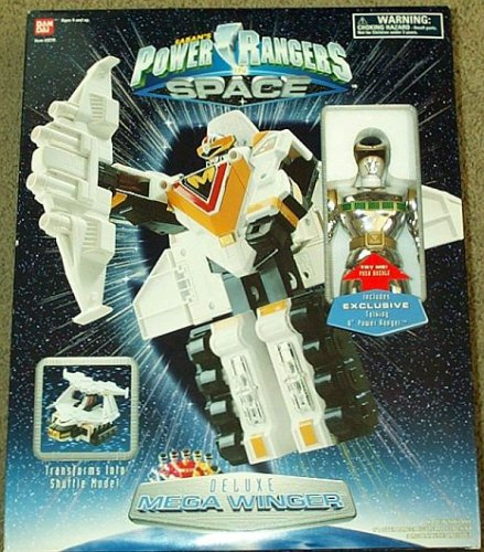 Picture of Bandai Deluxe Mega Winger Power Rangers Saban's Action Figure (B000SDHBTW) (Power Rangers Action Figures)