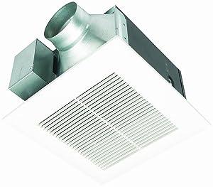 Panasonic FV-11VQ5 WhisperCeiling 110 CFM bathroom Ceiling Mounted Fan, White