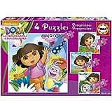 Educa Borrás - Puzzles progresivos: 6 - 9 - 12 - 16 piezas (16088)