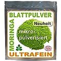 1kg Moringa Oleifera Blattpulver ULTRAFEIN, Premium �KO Rohkost (4x250g)