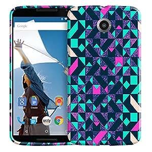 Theskinmantra Square designs back cover for Motorola Nexus 6