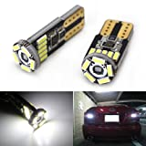 JDMTOY 15-SMD-1210 912 921 906 LED Bulbs For Back Up Reverse Lights, Xenon White
