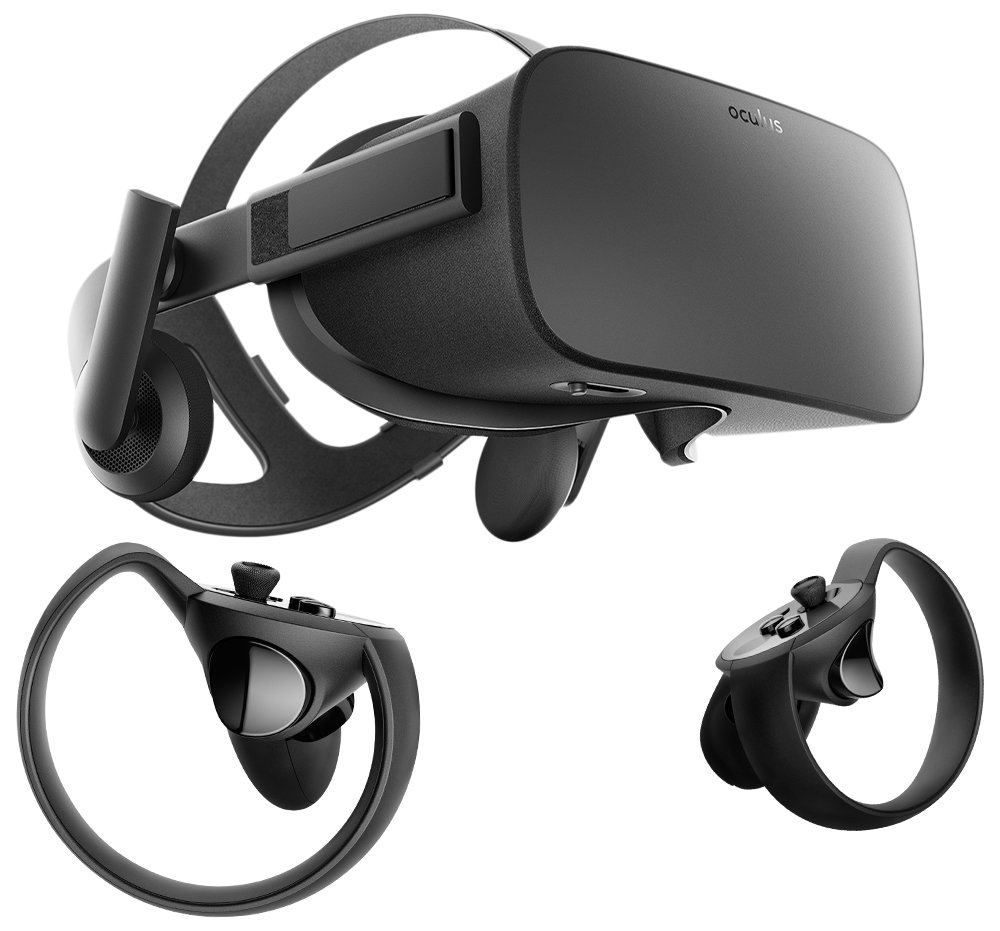 Virtual Reality Oculus Rift Touch System
