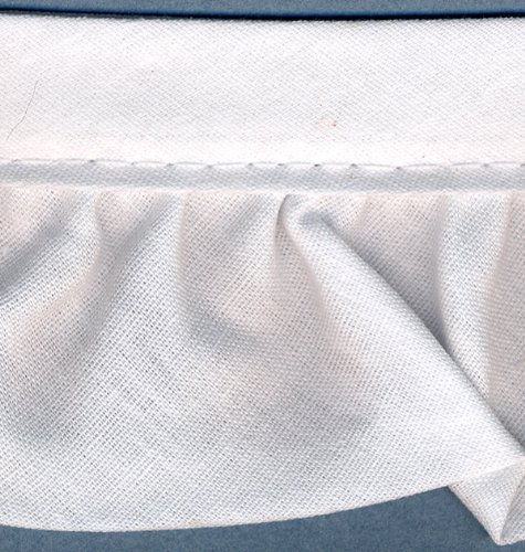 Ruffled Quilt Binding 2 Inch Wide 15 Yds.-White