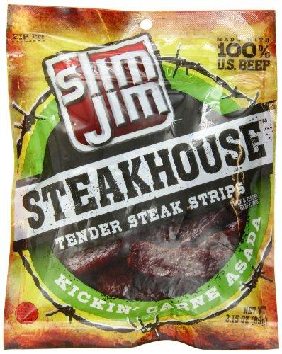 Slim Jim Steakhouse, Kickin' Carne Asada, 3.15-Ounce