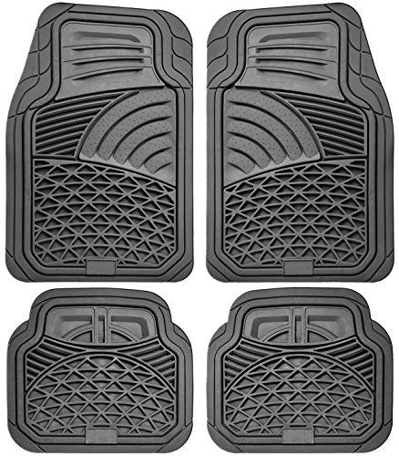 oxgord-4pc-set-tactical-heavy-duty-rubber-floor-mats-gray