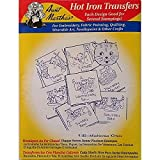 Mischievous Kittens Aunt Martha's Hot Iron Embroidery Transfers
