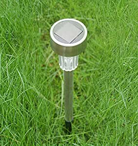 solar color changing garden light patio