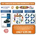 2013 COMPLETE TAXI KNOWLEDGE PACK Blue Book Runs + Knowledge CD + Audio CD's NAKUK
