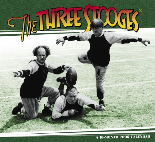 The Three Stooges 2009 Calendar