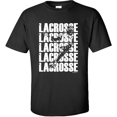 Lacrosse T-Shirt: Lacrosse Lacrosse Lacrosse