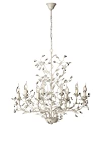 Eseo Corelli 37455/18/13 8 Light Ceiling Pendant (Cream)       Customer reviews and more information