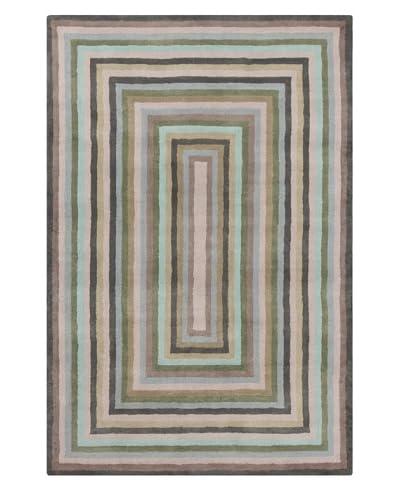 "Filament Antonetta Hand-Tufted Wool Rug, Multi, 5' x 7' 6"""