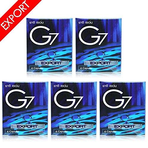 5箱 G7 EX 日本限定モデル ジーセブン EXPORT