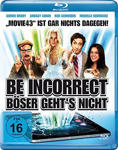 Be Incorrect - Böser geht's nicht [Blu-ray]