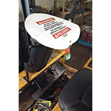 Master Lock Steering Wheel Warning Cover for Lockout/Tagout