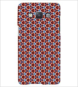 PrintDhaba Pattern D-5169 Back Case Cover for SAMSUNG GALAXY E5 (Multi-Coloured)