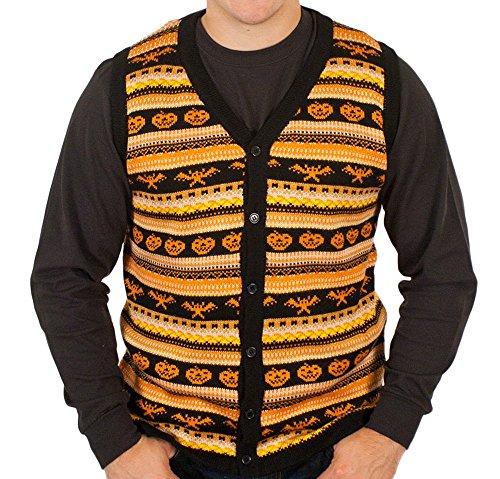 Spooky Halloween Sweater Vest in
