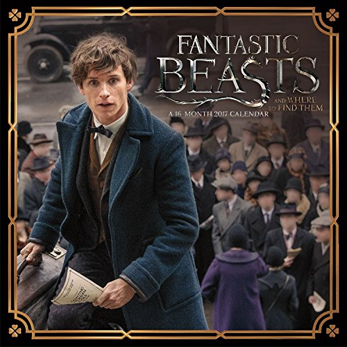 2017 Fantastic Beasts Mini (7x7) Calendar