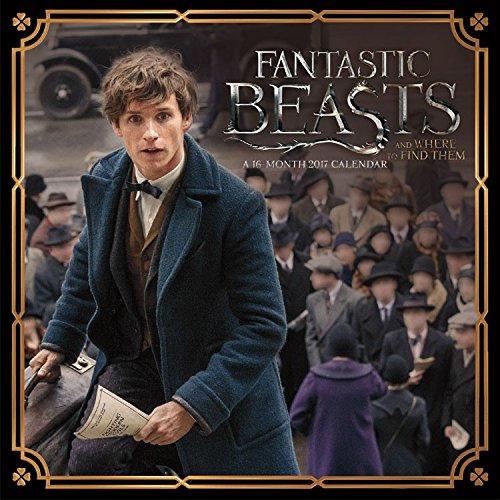 2017 Fantastic Beasts Mini (7x7) Calendar