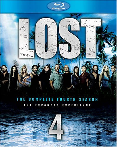 Cover art for  Lost: The Complete Fourth Season [Blu-ray]