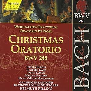 Edition Bachakademie Vol. 76 (Weihnachtsoratorium BWV 248) (SWR-Live-Mitschnitt Jahreswechsel 1999-2000)