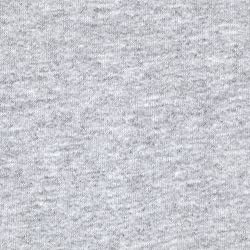 French Terry Knit Grey Fabric By The YD made by Press Textiles