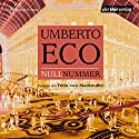 Nullnummer Audiobook by Umberto Eco Narrated by Felix von Manteuffel