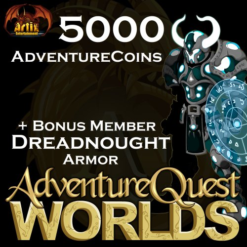 5,000 AdventureCoins Package: AdventureQuest