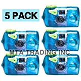 Photography - Fujifilm Quick Snap Waterproof 35mm Fuji Disposable / Single Use Underwater Camera (5 Pack)