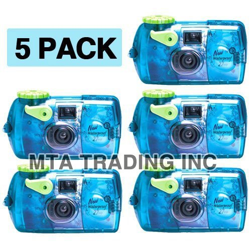 Best Price Fujifilm Quick Snap Waterproof 35mm Fuji Disposable / Single Use Underwater Camera (5 Pac...
