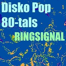 Disko pop 80-tals ringsignal