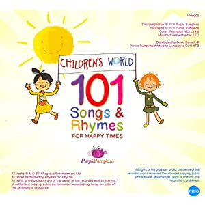 Children's World 101 Songs and Rhymes For Happy Times
