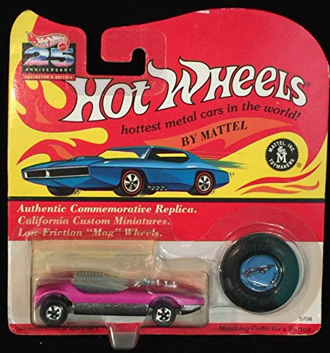Hot Wheels Authentic Commemorative Replica California Customs Miniatures Purple Splittin Image